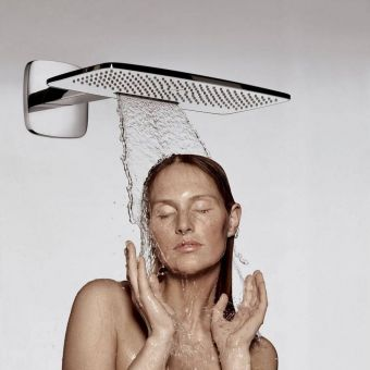 Hansgrohe Raindance E 430 Air 2jet Overhead Shower with Shower Arm