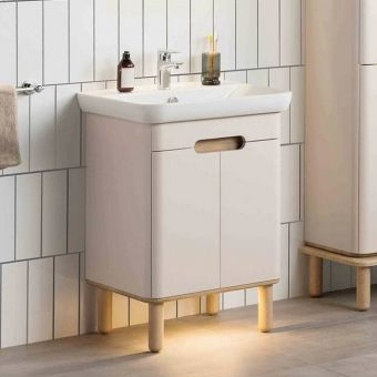 Vitra Sento Vanity Unit with 2 Doors