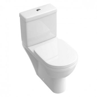 Abacus D-Style Close Coupled Toilet - VBSW-20-1505
