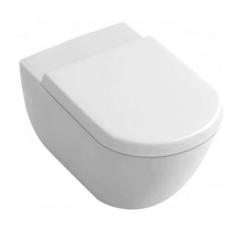 Abacus Bathrooms Simple Wall-hung Toilet