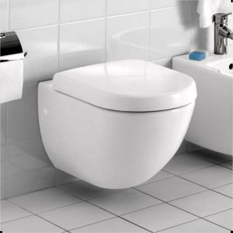Abacus Bathrooms Simple Compact Wall-hung Toilet