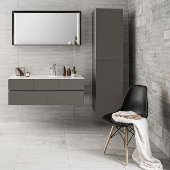 Vitra Memoria Tall Bathroom Cupboard