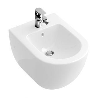 Abacus Bathrooms Simple Wall-hung Bidet - VBSW-35-6505