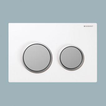 Geberit Omega20 Dual Flush Plate