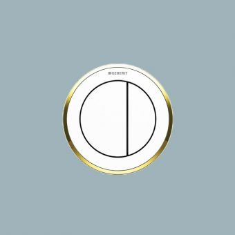 Geberit Dual Flush Buttons, Pneumatic Type 10 - 116055KH1