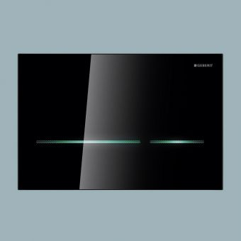 Geberit Sigma80 Touchless Dual Flush Plate, for Sigma 12cm Cisterns