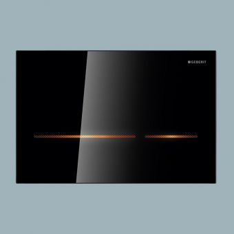 Geberit Sigma80 Touchless Dual Flush Plate, for Sigma 8cm Cisterns