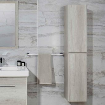 Abacus 1500mm Tall Bathroom Cupboard