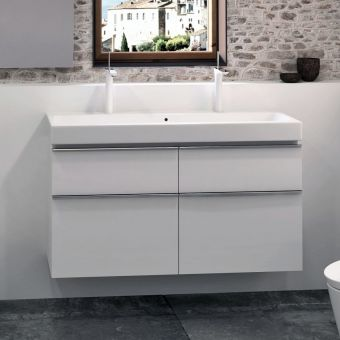 Geberit Icon 120cm Cabinet for Double Wash Basin