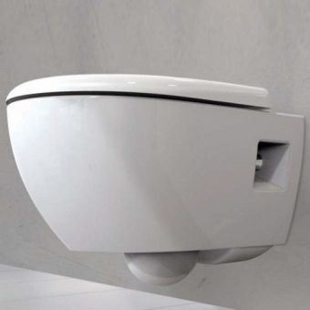 Geberit Smyle Round Rimfree Wall-hung Toilet