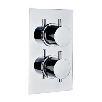 Abacus Emotion Chrome Round Thermostatic Shower Valve
