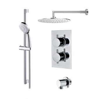 Abacus Emotion Shower Package, with Round Head & Rail Kit E06