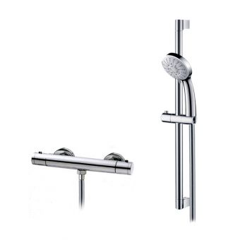 Abacus Emotion Exposed Shower Valve, with Rail Kit E10