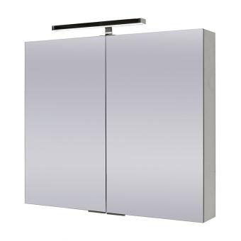 Abacus Pure Double Door Mirror Cabinet 80 - FNMC-02-3108