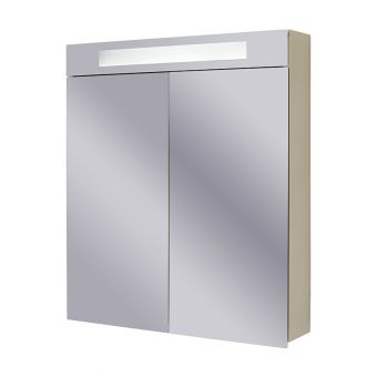 Abacus Pure Twin Door Mirror Cabinet 60