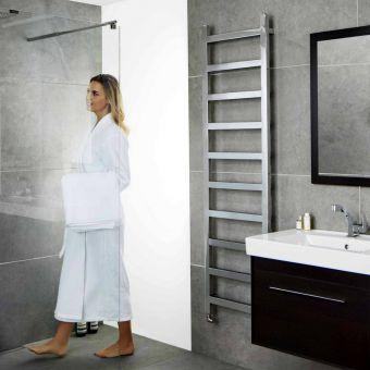 Abacus Cala Stainless Steel Towel Warming Radiator