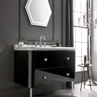 Bauhaus Waldorf Vanity Unit, with Legs
