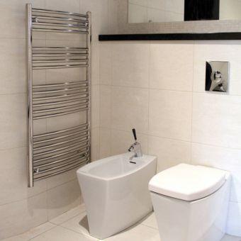 Abacus Radius Curved Towel Rail