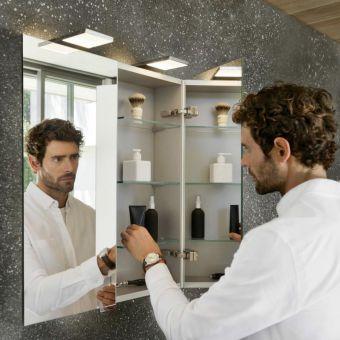 Keuco Royal 15 Double Door Mirror Cabinet - 14402171331