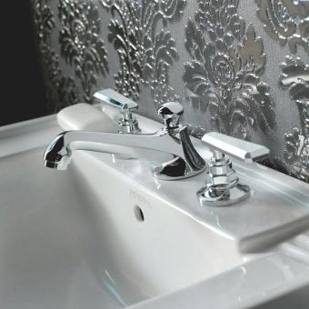 Imperial Poulie 3 hole Basin Mixer Set