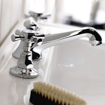 Imperial Cou 3 Hole Basin Mixer Tap