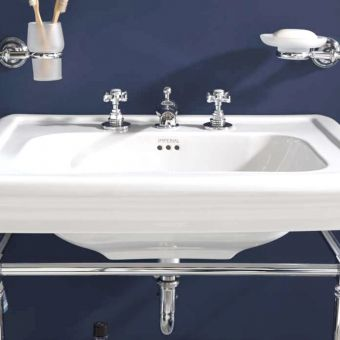Imperial Edwardian 3-hole Basin Mixer