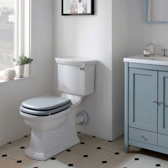Imperial Radcliffe Close Coupled Toilet - RD1WC01030