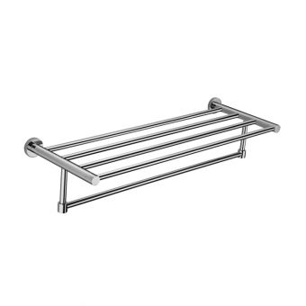 Abacus Halo Towel Rail with Shelf