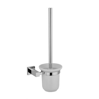 Abacus Line Wall Mounted Toilet Brush and Holder