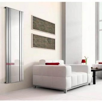 Apollo Capri Vertical Chrome Radiator with Mirror