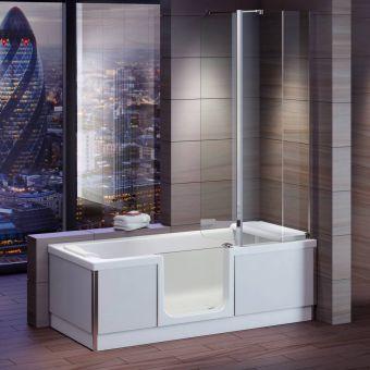 Bathe Easy Style Shower Bath