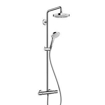 Hansgrohe Croma Select E 180 2jet Showerpipe Set