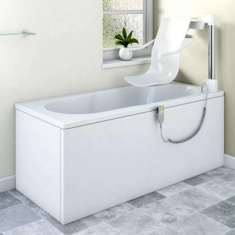 Trojan Bathe Easy Oceania Power Seat Bath with Chair-lift