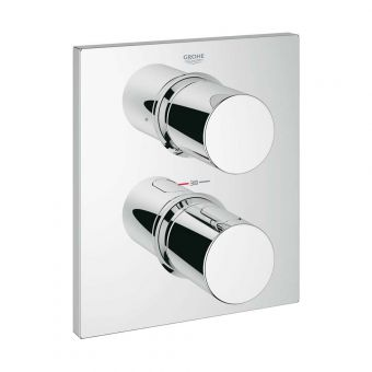 Grohe Grohtherm F Thermostatic Valve with 2 Outlets