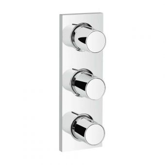 Grohe Grohtherm F Triple Volume Control Trim