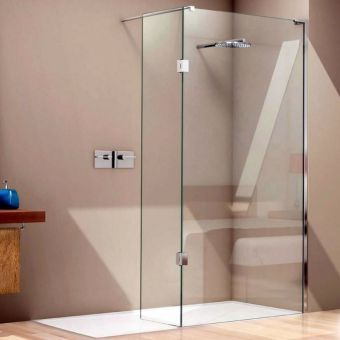 Matki EauZone Plus Wet Room Panel with Hinge Panel