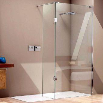 Matki EauZone Plus Wet Room Panel with Hinge Panel