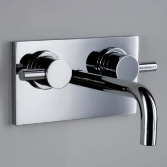 Matki Swadling New Absolute 2 Classic Wall Basin Mixer Tap