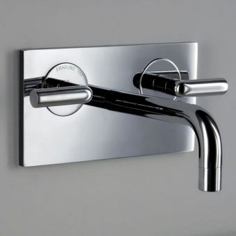 Matki Swadling New Absolute 2 Contemporary Wall Basin Mixer Tap 2C/7001