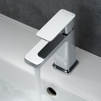 Vado Phase Basin Mixer Tap with Universal Basin Waste