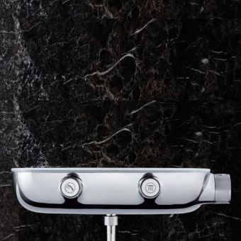 Grohe SmartControl Combi Thermostatic Shower Mixer with 2 Outlets