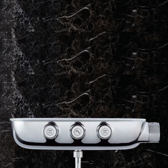 Grohe SmartControl Combi Thermostatic Shower Mixer with 3 Outlets - 34713000