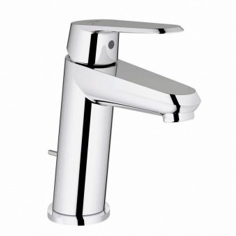 Grohe Eurodisc Cosmopolitan Small Basin Mixer Tap with Pop-up Waste Set
