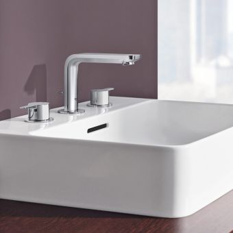 Grohe Lineare Three-hole Basin Mixer