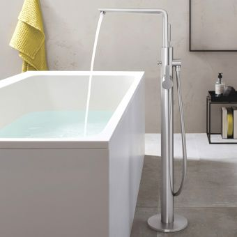 Grohe Lineare Floorstanding Bath Mixer with Shower Handset