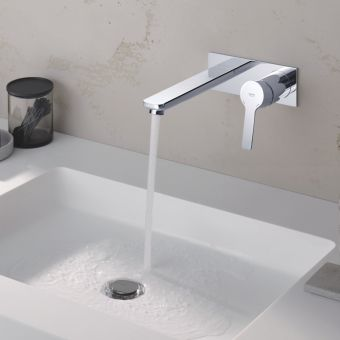 Grohe Lineare 2-hole Basin Mixer Tap M-Size - 19409001