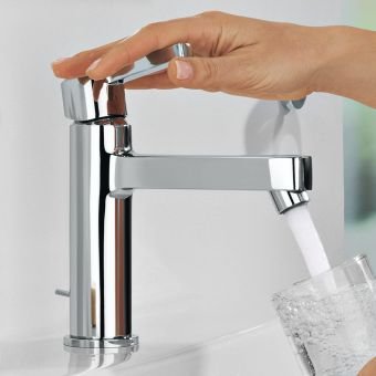 Grohe Lineare Basin Mixer Taps