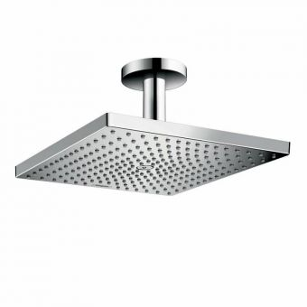 Hansgrohe Raindance E 300 Air 1jet Overhead Shower with Ceiling Connector - 26250000HG