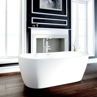 Ramsden & Mosley Hellisay Double Ended Freestanding Bath