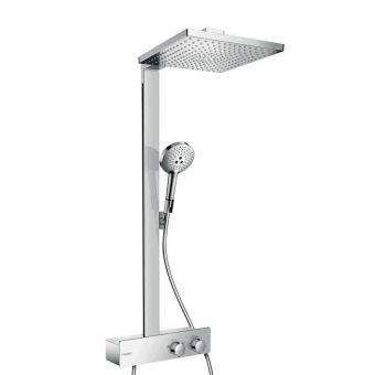 Hansgrohe Raindance E 300 1jet Showerpipe with 350 Shower Tablet